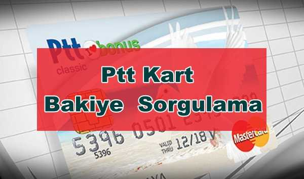 Photo of Ptt Kart Hesap Bakiye Sorgulama